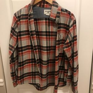 Billabong flannel shirt